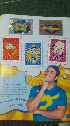 Figurinhas Luccas Neto