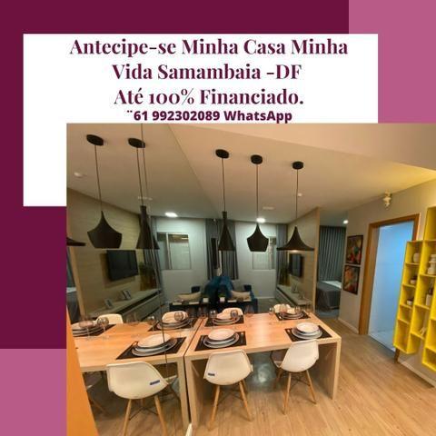 R$ 127.990 Realize seu sonho 2 quartos Samambaia Norte até 100% financiado