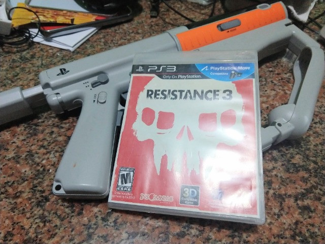 Sony Sharpshooter PS3 + Resistance 3