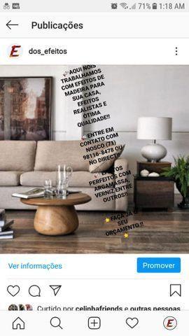 Efeito madera para sua casa, hora de dar um up no visual do seu imóvel!!!!