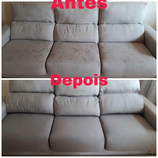 Lavagem de sofá a seco - Foto 4