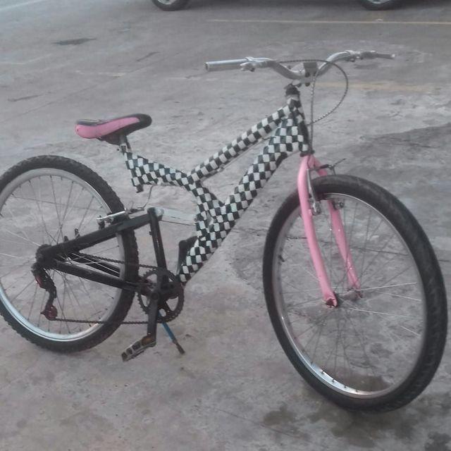 Bike rebaixada quadriculada - Foto 2
