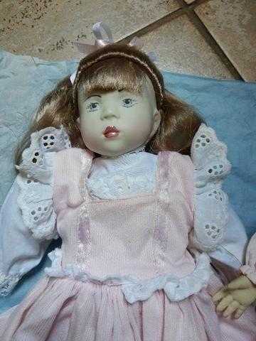 Vendo lindas bonecas porcelana - Foto 4