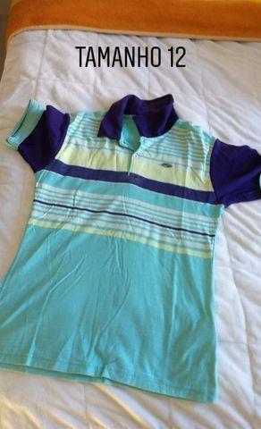 Calças camiseta e moletons de abrigo infantil menino TAM 6,8,12 e 14. Preço acessível - Foto 3
