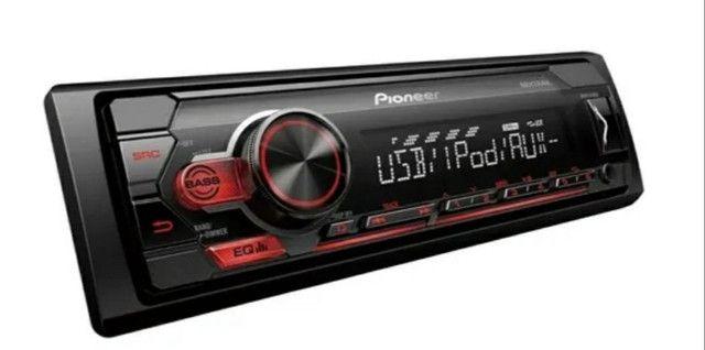 Som automotivo Pionner MVH S118UI com USB - Foto 2