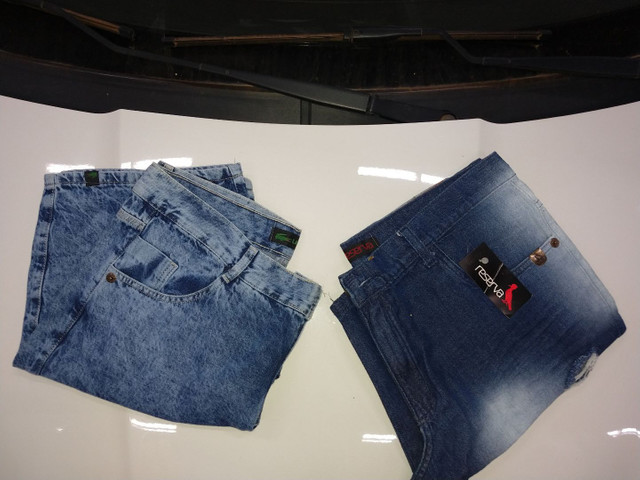 Bermudas jeans masculinas - Foto 2