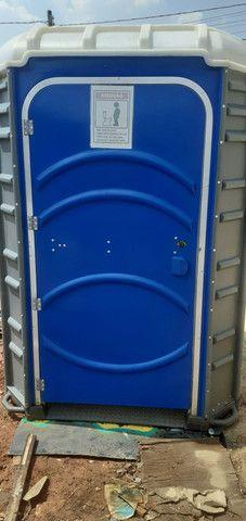 Banheiro quimico para cadeirante