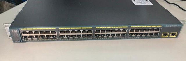 Switch Catalyst 2960 Series 48 Portas Tt-l (semi Novo) - Foto 2