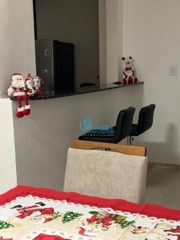 Apartamento com 3 dormitórios à venda, 110 m² por R$ 495.000,00 - José Menino - Santos/SP - Foto 4