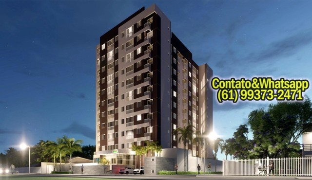 Apartamento em Goiânia, 2Q (1Suíte), 55m2, Garagem, Lazer Completo! Parcela. - Foto 14