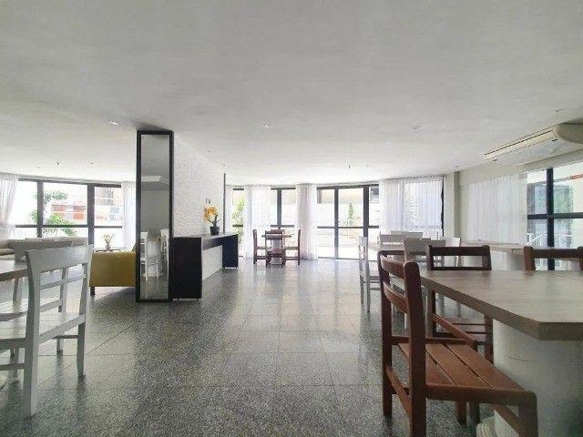 Apartamento/flat,tudo renovado,entre av. beira mar e av. aboliçao, em posiçao privilegiada - Foto 14