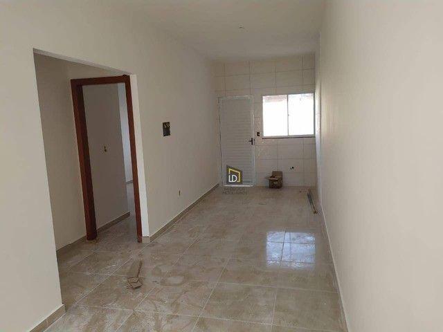 Casa com 2 dormitórios à venda, 55 m² por R$ 160.000 - Jardim Ouro Verde - Várzea Grande/M - Foto 2