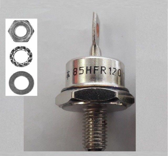 Diodo 85a 1200v Para Carregador De Bateria 85hfr120 Original