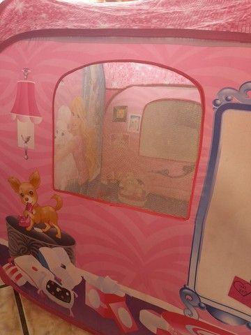 Barraca infantil barbie(faço o preço até 100) - Foto 5