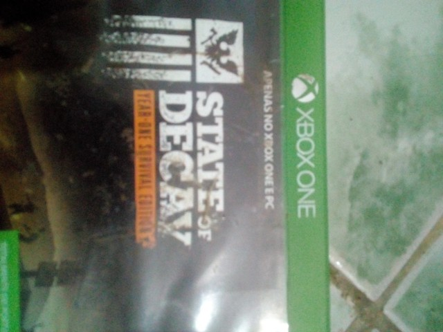 Vendo três jogos de Xbox one
