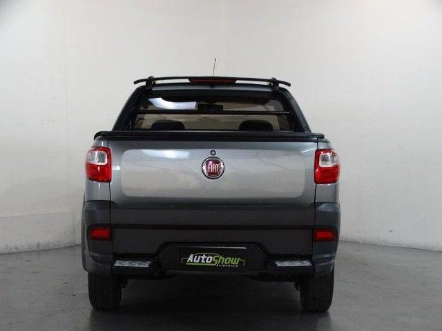 Fiat Strada Hard Working Cab. Estendida 1.4 Flex 2p Cinza - Foto 5