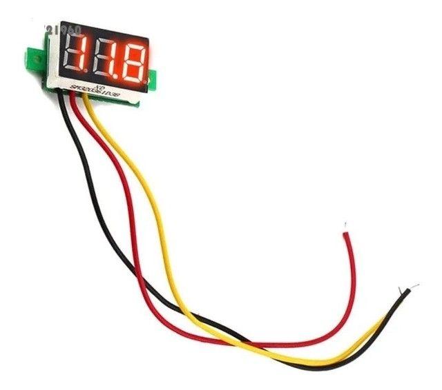 Voltímetro digital até 30V  - Foto 2
