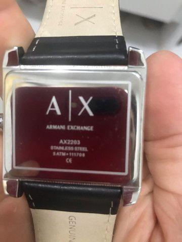 Relógio armani ax2203 muito novo  - Foto 3