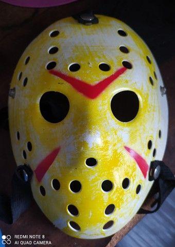 Máscaras PVC hóquei original Jason / wolverine