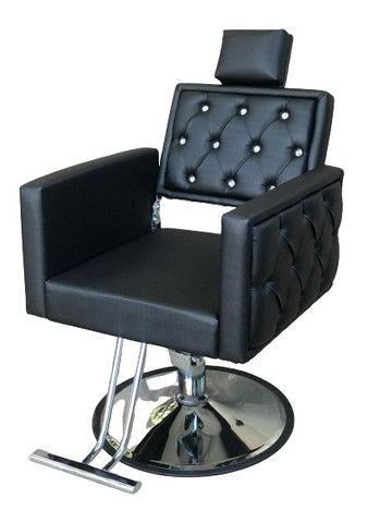 Cadeira Luxo Dubai Hidráulica Reclinável