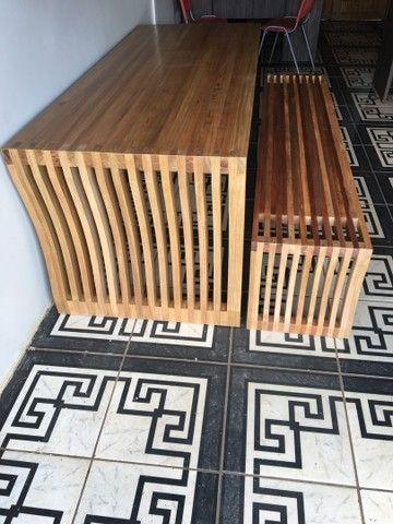 Mesa madeira  - Foto 2
