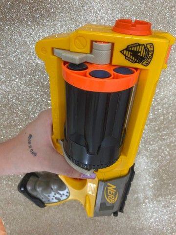 Brinquedo Arma Nerf   Lançador Nerf Maverick Rev-6 - Foto 6