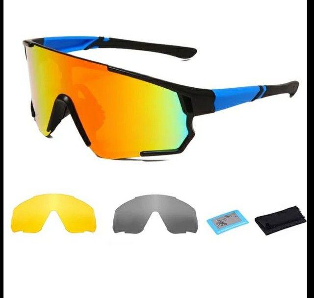 Óculos 3 lentes