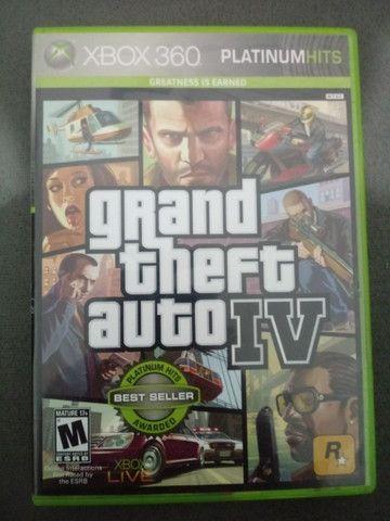 Jogo Xbox360 GTA 4