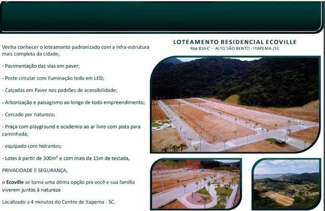 Terreno em loteamento á venda em Itapema