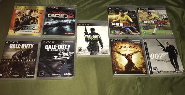Jogos em perfeito estado PS3
