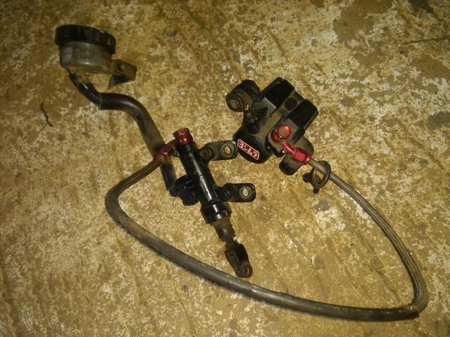 Kit freio XT600/Ténéré aeroquip