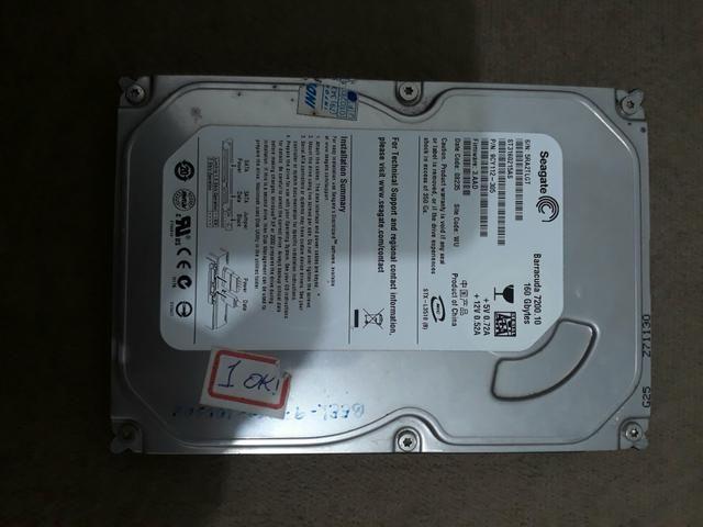 HD Seagate 160gb