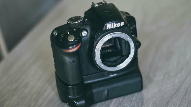 Nikon 3200 com Grip Battery
