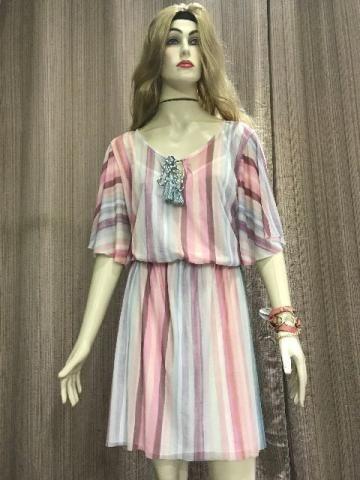 Vestido Multicolorido