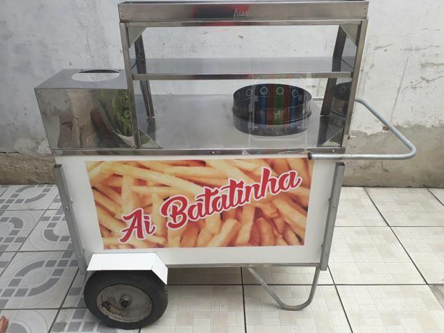Barraca de batata frita