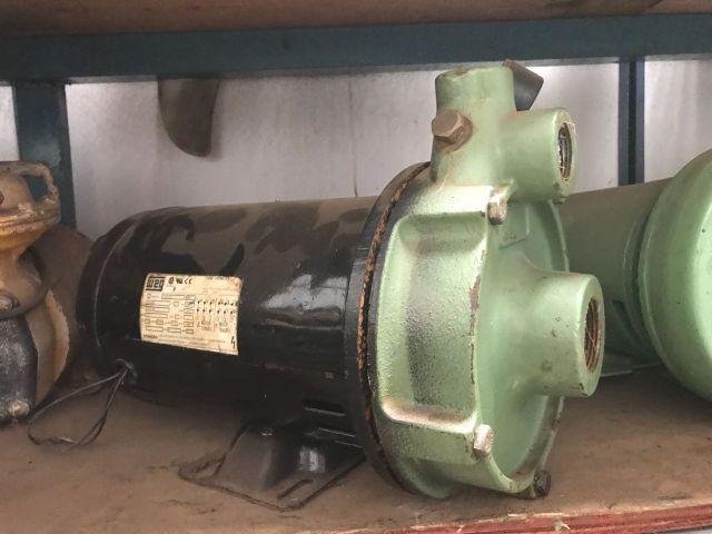 Motobomba 3 Hp Schneider com motor Weg