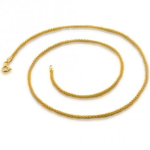 Cordão de Ouro 18k Novo - Lindo - Joia Exclusiva, Com Garantia