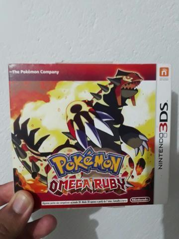 Jogo 3DS Pokémon Ômega Ruby