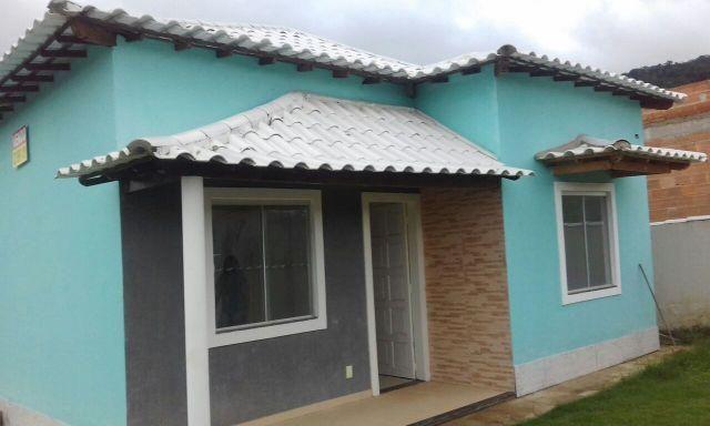 Linda casa (em acabamento) Sampaio Correia -Saquarema/RJ - Rua asfaltada - Ac Carta