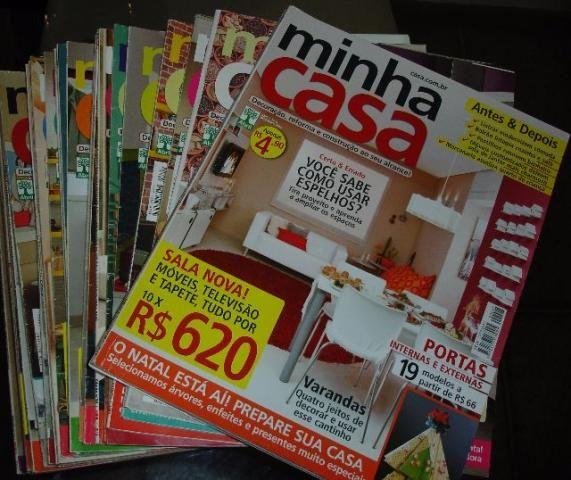 Revista de coleção de Decoração – Minha Casa – unidade ou combo