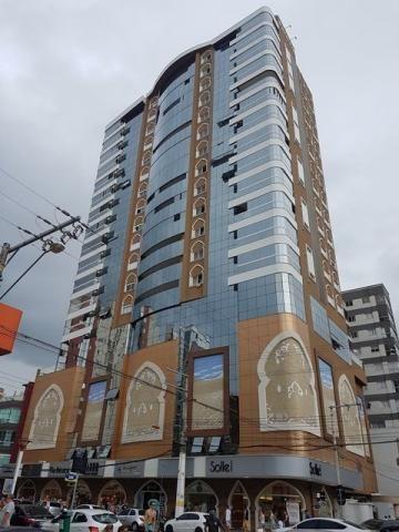 O melhor 03 suites + 03 vagas frente Avenida com vista para o mar da Meia Praia