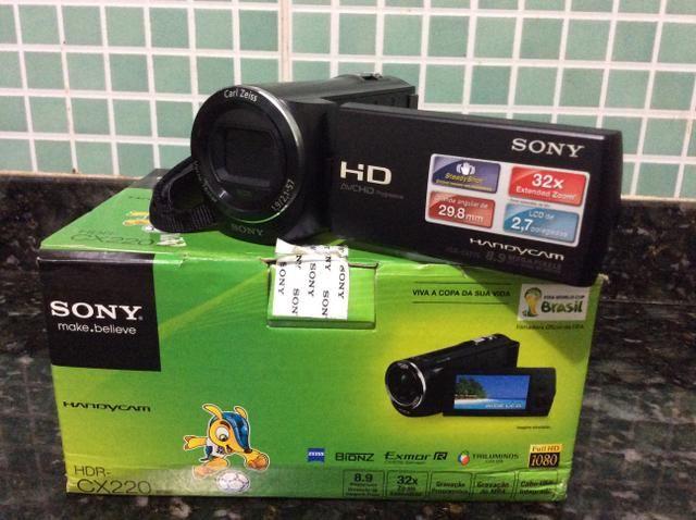 Filmadora Sony Full HD zera