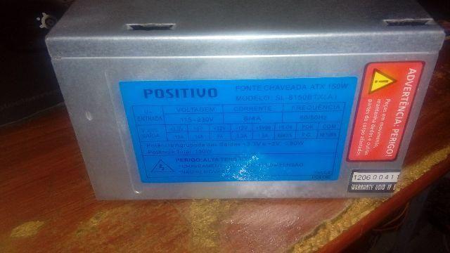 Positivo - Fonte Chaveada 150W [SL-8150BTX(A)]