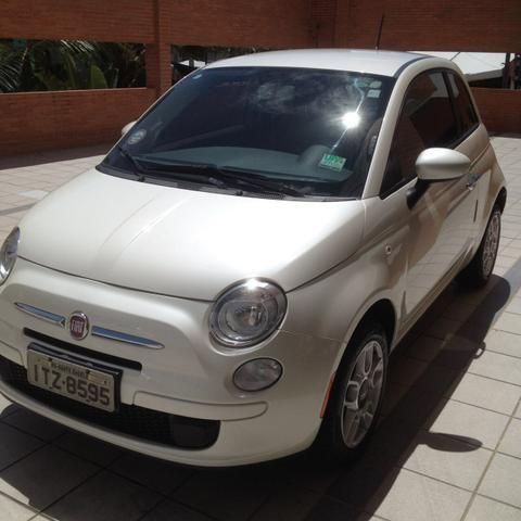 Fiat 500 2013 único dono