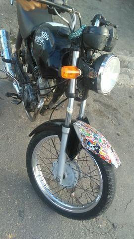 Moto de leilão YBR 125, Guarulhos