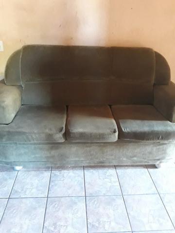 Jogo de sofá 2 e 3 lugares 500 reais mais pego até 450