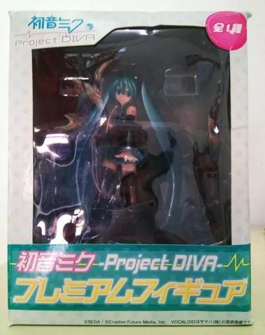 Hatsune miko figura com 17cm