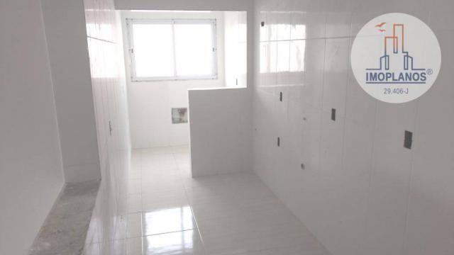 Apartamento com 2 dormitórios à venda, 72 m² por r$ 322.000 - canto do forte - praia grand - Foto 6