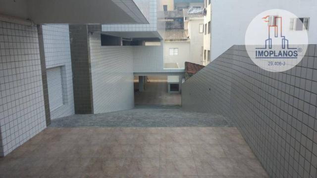 Apartamento com 2 dormitórios à venda, 72 m² por r$ 322.000 - canto do forte - praia grand - Foto 20