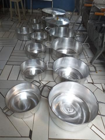 Panelas grandes pra restourante apartir 100